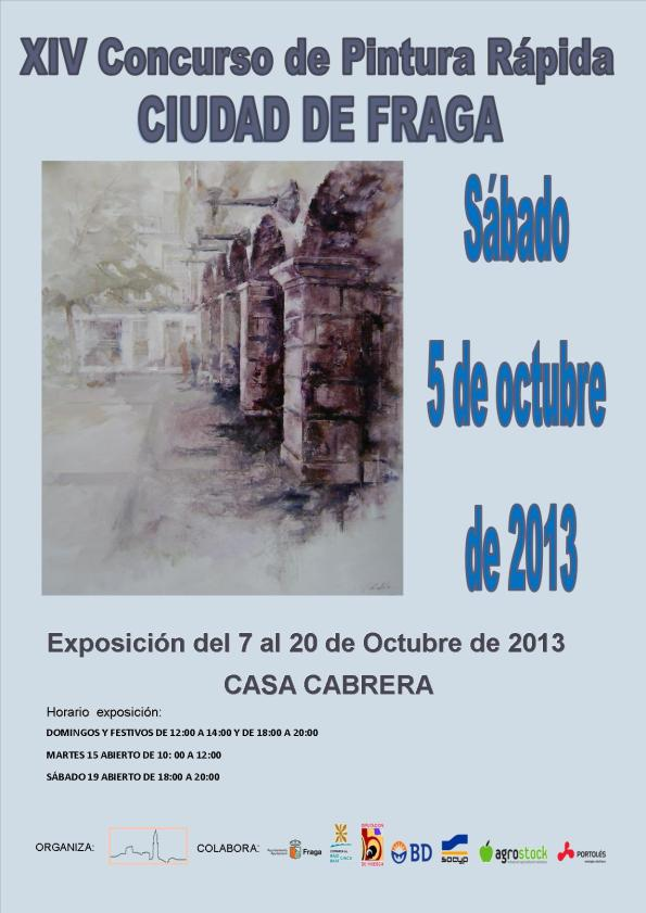 cartel-concurso-pintura-rápida-2013